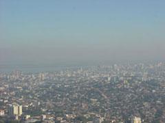 Vista de Porto Alegre. desde el morro