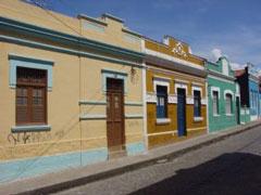 Casas coloniales en Olinda