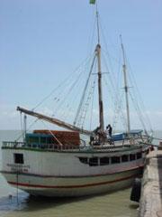 Barco a Alcantara