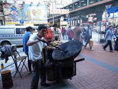 También hay castañeros en Hong Kong