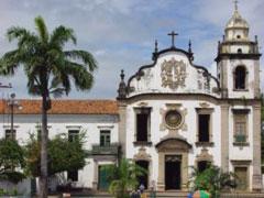 Iglesia barroca en Olinda