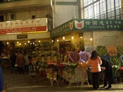 El mercado de flores en el barrio francés