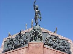 Monumento en Humahuaca