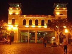 Mercado de Floripa de noche