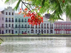 Casas coloniales en Recife