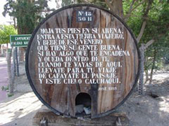 Poesía en barril
