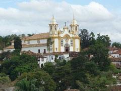 Iglesia Matriz en Tiradentes