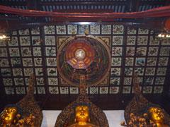 Los 3 Budas y el techo