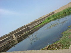 El estanque de ceremonias de Chan Chan