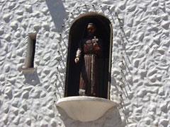 La estatua articulada de Francisco Solano