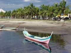 Barcas típicas de Paranaguá