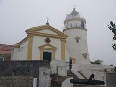 El Faro y la capilla de Nossa Senhora da Guia