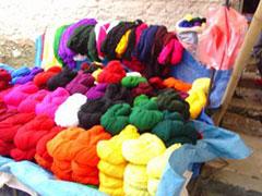 Mercado multicolor