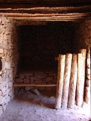 Casa prehispánica n el pucará