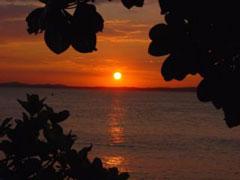 Puesta de sol en Salvador