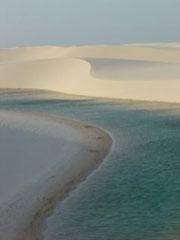 Las dunas y las lagunas