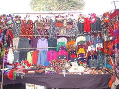 El colorista mercado de Pisac
