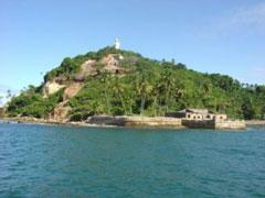 Faro y fuerte de Morro de São Paulo