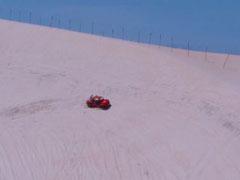 Genipabú. Derrapaje en las dunas