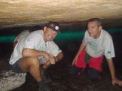 En la gruta de Acaiá