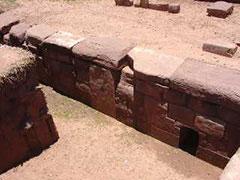Sólo está excavada una pequeña parte de Tiwanaku