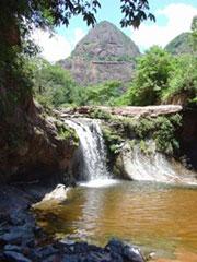 Cascada en el P.N. Amboró