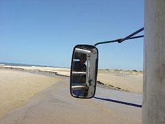 """La """"carretera"""" a Cabo Polonio"""