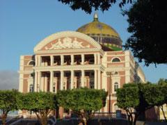 El impresionante teatro de Ópera de Manaos