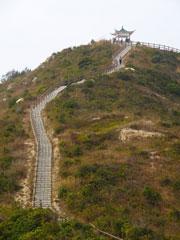 Escalera al cielo en Cheung Chao