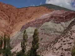 Cerro 7 colores en Purmamarca
