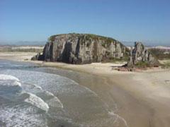 La playa y el morro