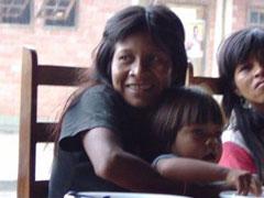 Mujer indígena Guaraqueçaba
