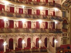 Interior teatro de Ópera de Manaos