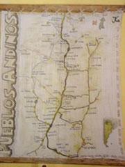 Mapa valles andinos