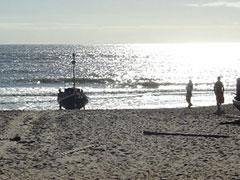 Pescadores en Punta del Diablo