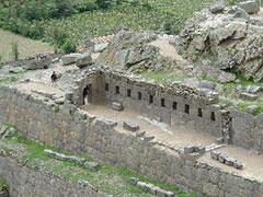 Las ruinas incas de Ollanta