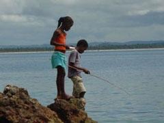 Pescadores precoces