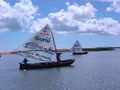 Jangada, el barco tradicional