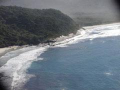 Vista de la Piedra do Demo desde Sundara. Cortesía de Nelio