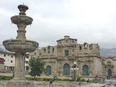 La catedral de Cajamarca