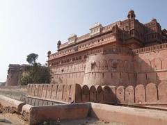 El fuerte Junagarth desde el exterior