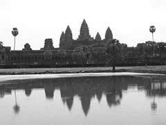 La silueta inconfundible de Angkor Wat