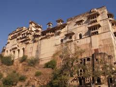 El palacio real desde Bundi