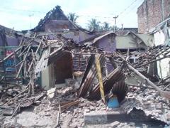 Destrucción terremoto Yogyakarta