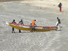 pescadores gambianos
