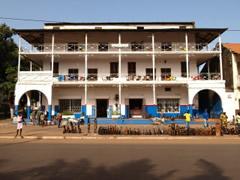 Edificio colonial en Bissau