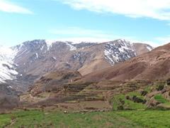 Valles en torno a Imlil