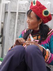 Mujer en Kunming