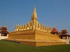 That Luang, templo en Vientiane