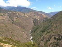La carretera a Los Nevados